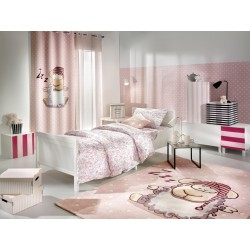 ΚΟΥΡΤΙΝΑ  SAINT CLAIR SOFT-TOUCH  SHAGGY PINK 140X250