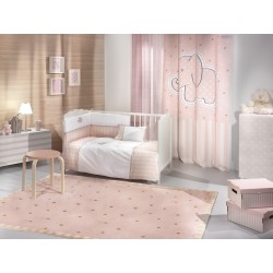 ΚΟΥΡΤΙΝΑ  SAINT CLAIR SOFT-TOUCH  AFRICA PINK 140X250