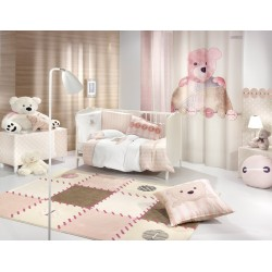 ΚΟΥΡΤΙΝΑ  SAINT CLAIR SOFT-TOUCH  TEDDY ROSE 140X250
