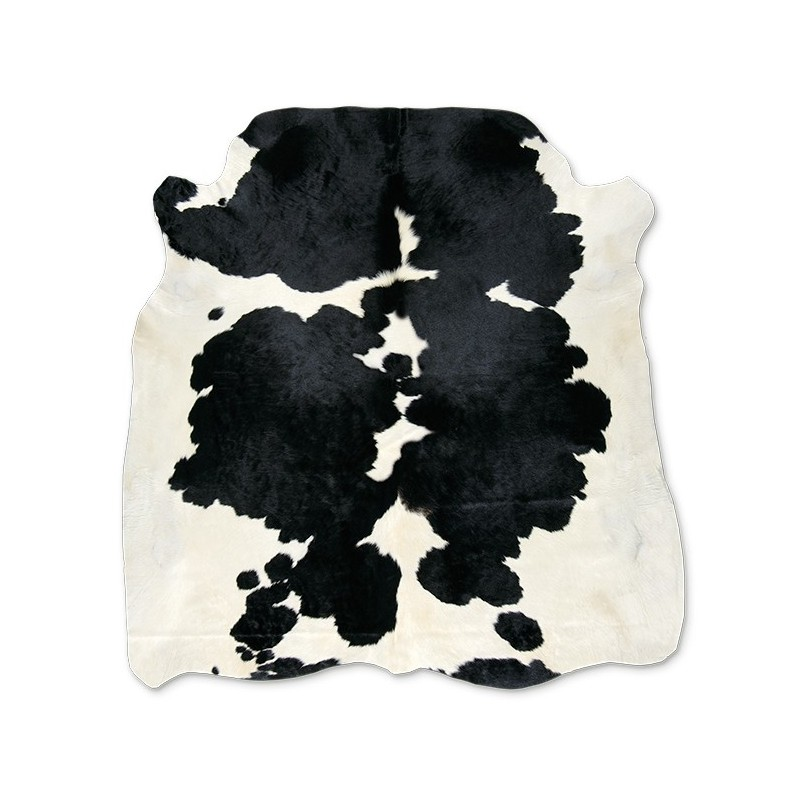 Cow Skin Natural Black-White