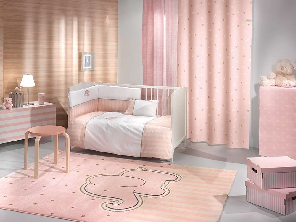 ΚΟΥΡΤΙΝΑ SAINT CLAIR SOFT-TOUCH STARLIGHT PINK 160X250