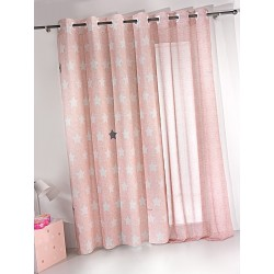 ΚΟΥΡΤΙΝΑ SAINT CLAIR SOFT-TOUCH PIRINEO PINK 140X250