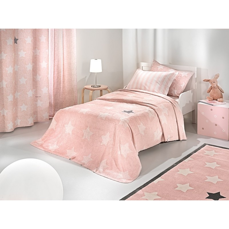 ΚΟΥΒΕΡΤΑ SAINT CLAIR ULTRASOFT PIRINEO PINK 160X220