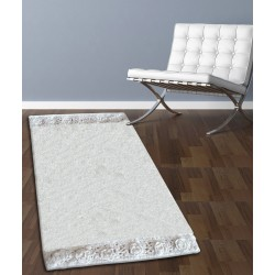 ΤΑΠΕΤΟ ΜΠΑΝΙΟΥ SAN LORENTZO 925 DOUBLE LACE WHITE 50x80