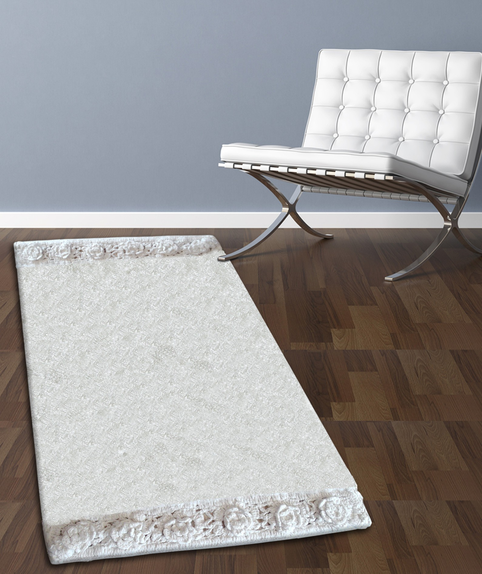 Ταπέτο Μπάνιου San Lorentzo 925 Double Lace White 50×80