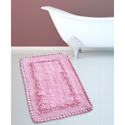 ΤΑΠΕΤΟ ΜΠΑΝΙΟΥ SAN LORENTZO 923 CROCHET LIGHT ROSE 50x80
