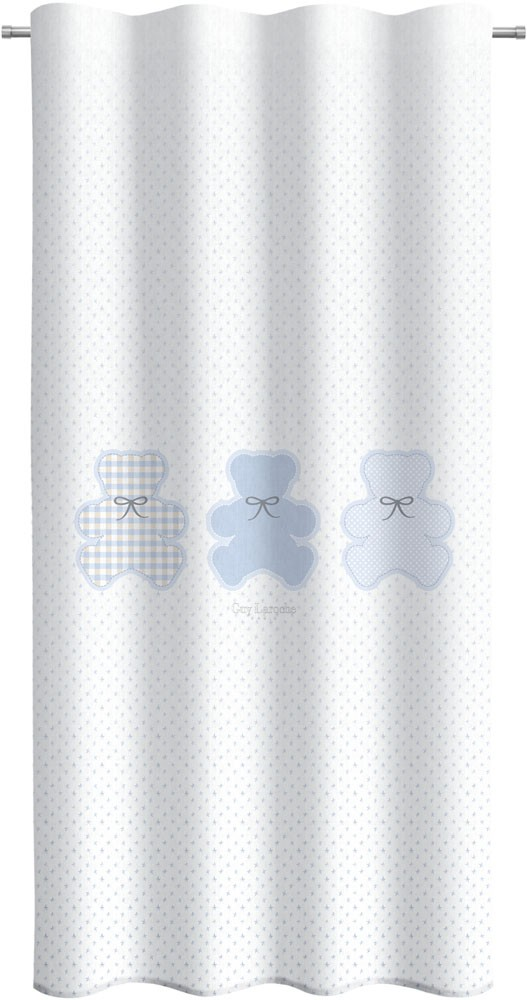Κουρτίνα Guy Laroche Friends Light Blue 145×270